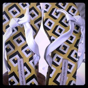Diane Von Furstenberg Leather Sandals